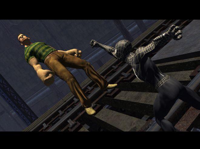 Скачать на компютер игру spider-man3.
